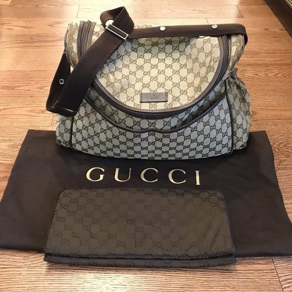 aa7cbb8cbd45f2 Gucci Bags | Authentic Gg Canvas Diaper Bag | Poshmark